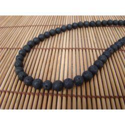 Lávakő ásvány nyaklánc 8 mm